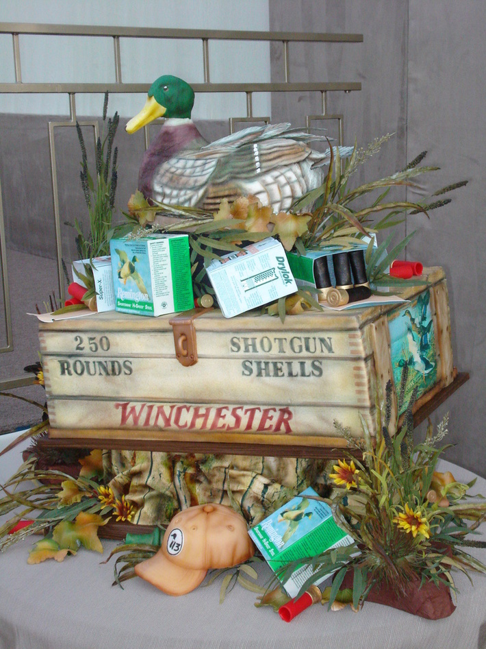 Duck hunter cake - 407F