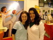 Trade Show in Dresden with Carina:)