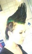 Green mohawk