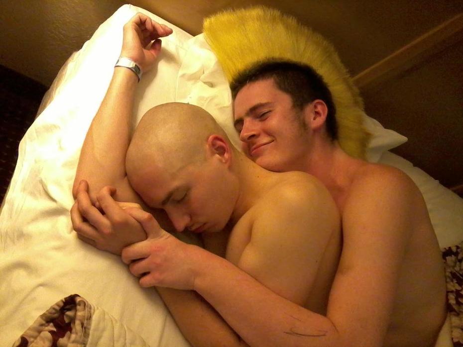 Steve and Skinhead Dave