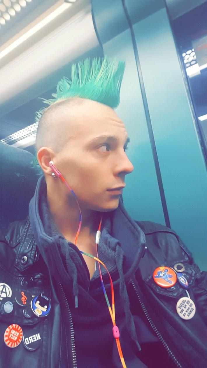 Mean Green punk machine