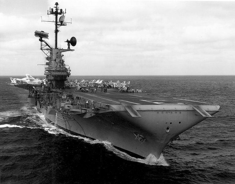 USS Bon Homme Richard CVA 31 catapults