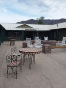Patio in Stovepipe Wells