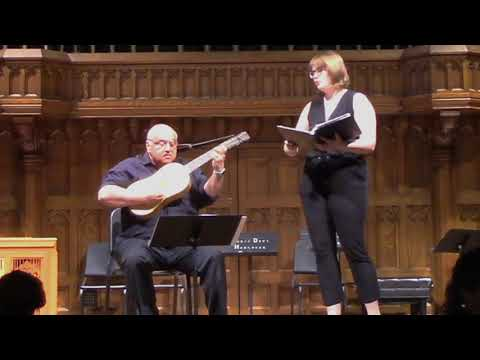 Israel, Mira Tu Montes for Soprano and vihuela by Alonso Mudarra