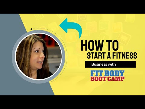 How To Start a Fitness Franchise with Fit Body Boot Camp