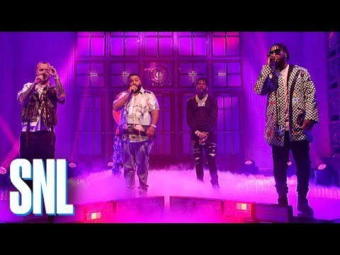 DJ Khaled: Jealous/You Stay Medley (Live) - SNL