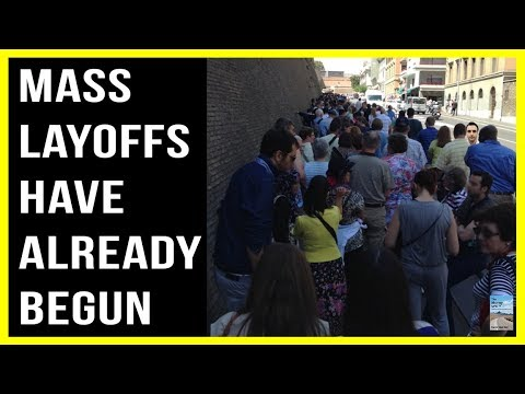 MASS LAYOFFS Across U.S. as Economy Continues To Sink!