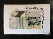 "Cinzia Farina - ""Madre acqua"", per la IV Esposizione Internazionale di Arte Postale en Avilés (Asturia, Spagna), a cura di Ricardo Fernandez"