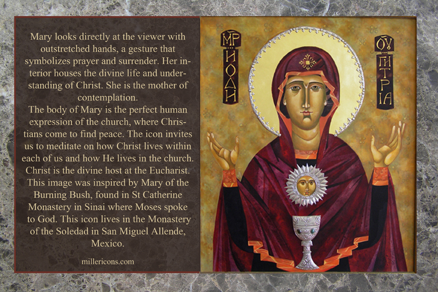 Mary Receives
