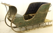 antique swedish sleigh