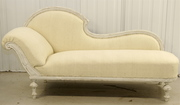antique 1900s swedish chaise longue