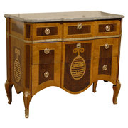 Gustavian Armorial Commode