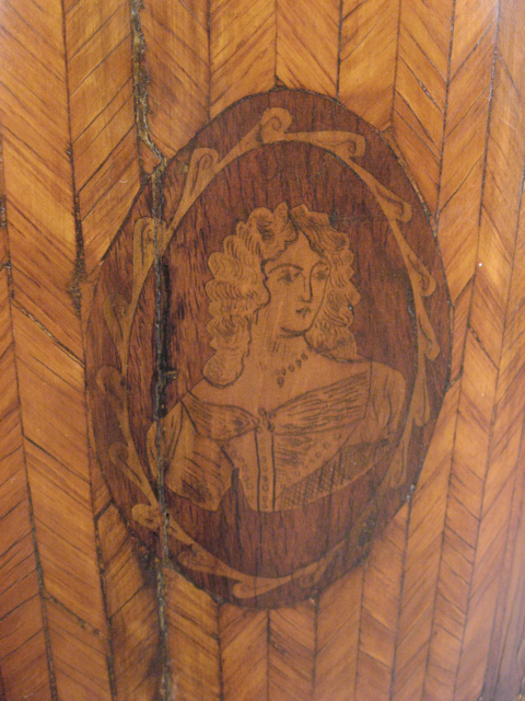 Detail of Parquetry Inlay