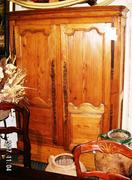 18c French pine armoire