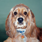 """Pet Portrait Painting Sample """"Cocker Spaniel"""""""