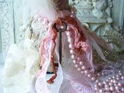 Marie Antoinette's Bliss Altered Art Shoe