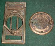 Bronze Speakeasy Speakaview Door Grill Knocker