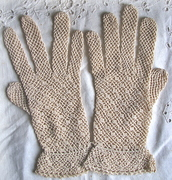 Antique gloves to 1900 until 1950.