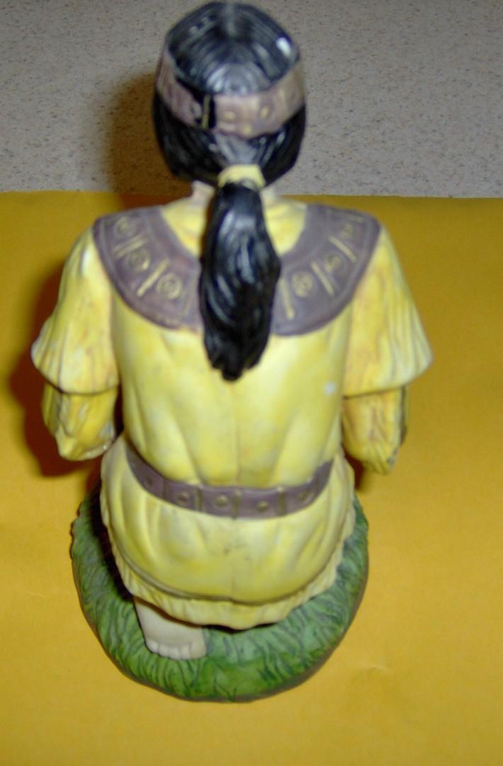 American indian  male figurine