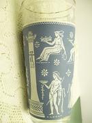 Jeanette Corinthian Blue Pattern