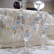 1950's Cocktail Atomic Glasses