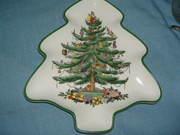 Spode Christmas Tree medium xmas tree plate