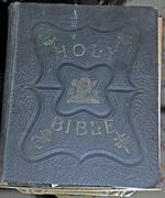 JENKINS ALEXANDER AFRICAN AMERICAN FAMILY BIBLE W/ 50+ PHOTOS 1948 -VIRGINIA