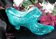 3482 Boyd's Blueberry Swirl Cat Slipper