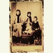 Cabinet Card - Victorian Kids