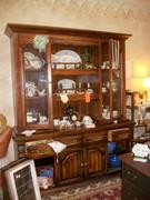 Large Vintage Hutch as Shop Display