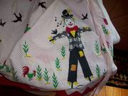 Apron Scarecrow chikens 50s sweet