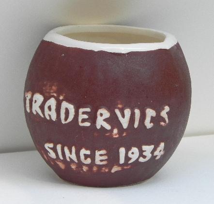 Vintage Trader Vic Tiki Coconut