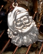 santa necklace