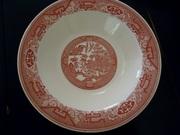 Royal China Red Willow Ware Bowl