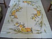 Vintage Vera Tablecloth