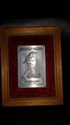 Rembrandt stamp plaquette