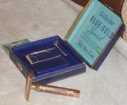 1940 Gillette NEW Blue Gold Special Set