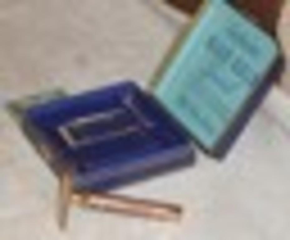 1940 Gillette NEW Blue Gold Special Set (16)
