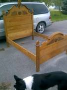 antique bed for sale $600 OBO