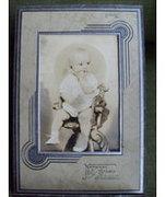 Vintage Baby Girl Photo