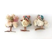 Vintage Chenille Easter Chicks