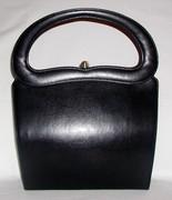 Beautiful Sculptural Handle Handbag