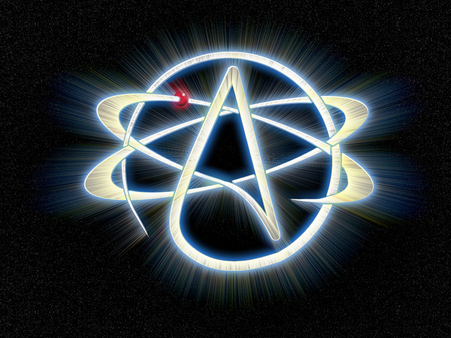 atheist symbol wallpaper
