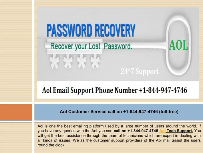 AOL Best Customer Support available with reliable and 24/7 availability