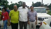 Professor C. R. Karisiddappa, Professor N. Laxman Rao and Badan Barman