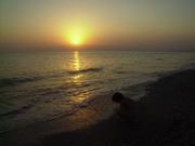 Atardecer en la Playa de Cabo de Gata