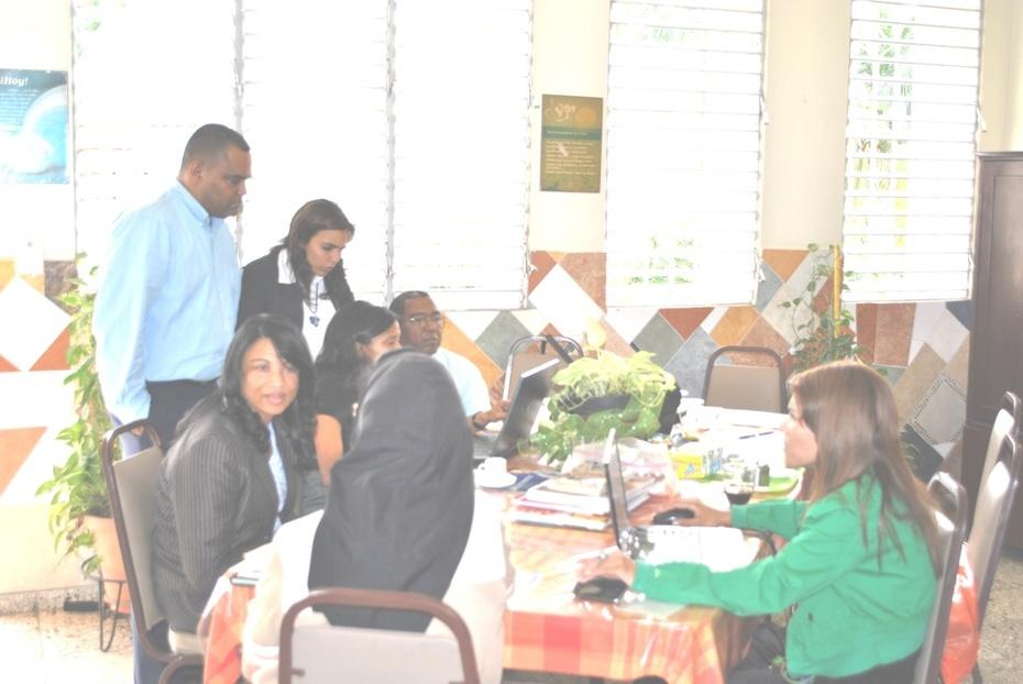2013, Evaluación in-situ, centro Cardenal Sancha, 3ra entrega del Premio Nacional a la Excelencia de COS, INFOTEP