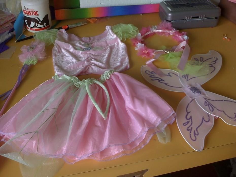 Vestido Campanita Fiestaideascom