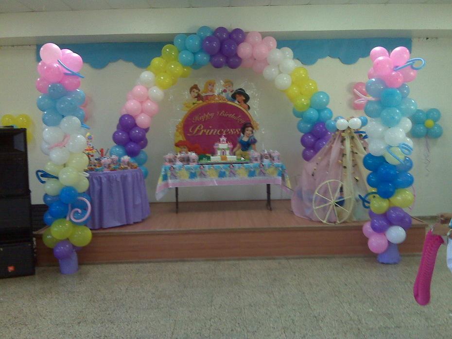 Cumpleaño de princesas