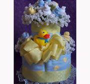 DIAPER CAKE DUCK